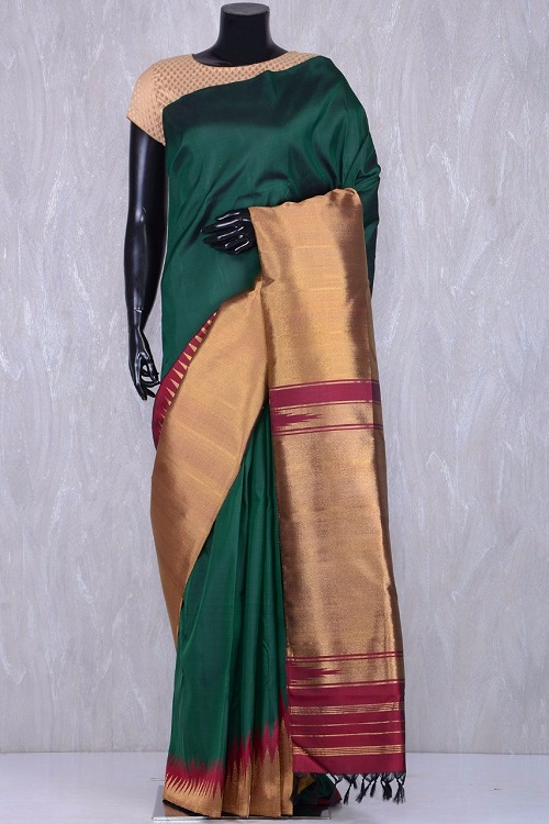 65aee879304ff Quick Overview. Condition  New. Brand  Handloom Collections. Description  Pure  Handloom Kanchipuram Silk Saree