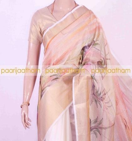 62c39059788a1 PJS17A335 Pink Gold Pure Manipuri Kota Cotton Saree. 950.00. View Item.  New. HTML template HTML template